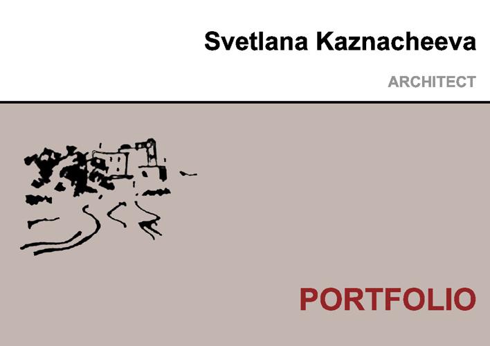 Svetlana Kaznacheeva Portfolio