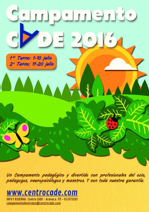 Campamento CADE 2016