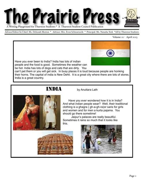 Prairie Press Issue 12