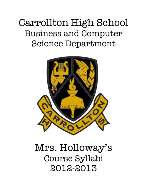 Holloway's Course Syllabi