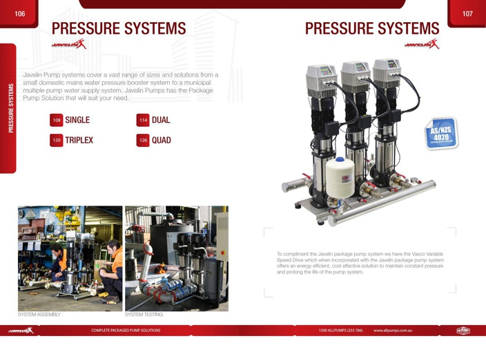Javelin Pressure Systems
