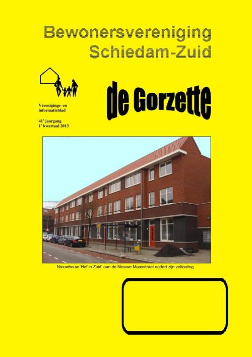 Gorzette 1e kwartaal 2013