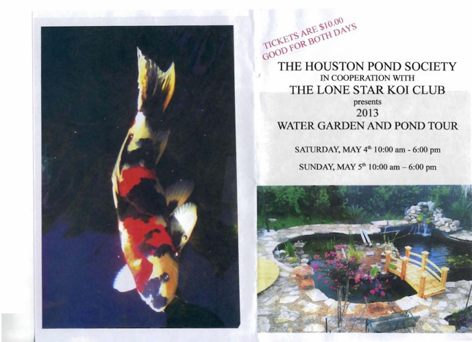2013 Houston Pond Tour