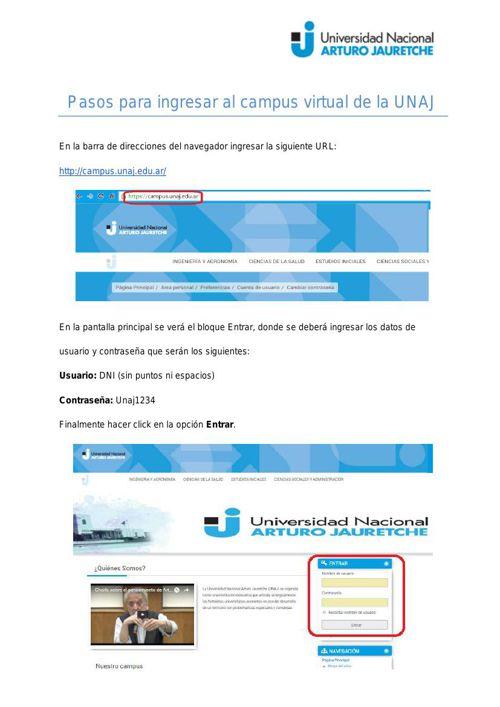Tutorial Inicial Campus Virtual Matemática. v1