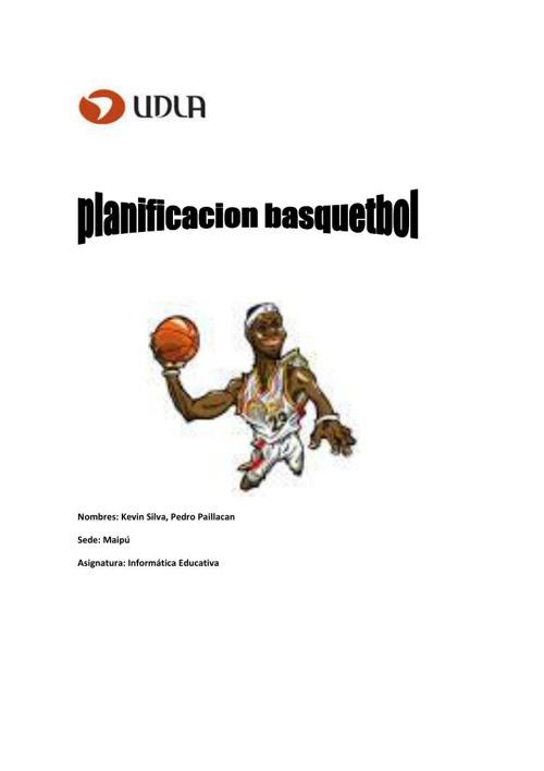 planificacion informatica basquet 2.0