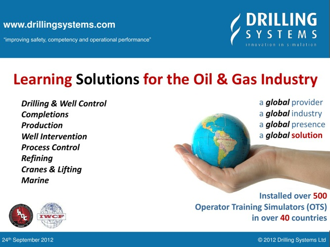 UK Drilling Systems O&G Quick Overview