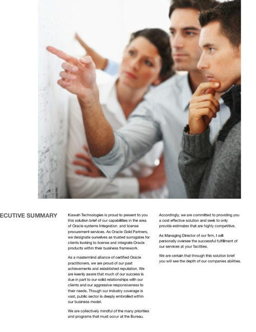 Brochure Kiawah Technologies Consulting