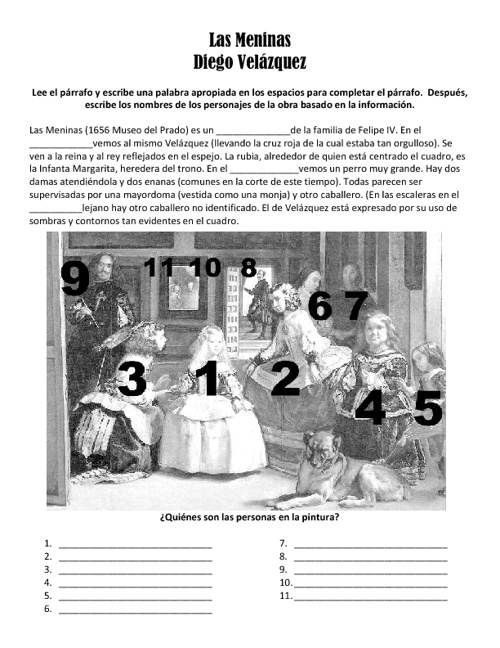 Copy of Las Meninas por Diego Velázquez