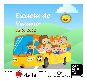 Idalia ONG - Escuela Verano 2012 Folleto Online