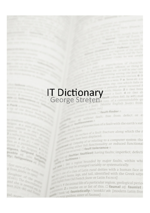 IT Dictionary - George Streten