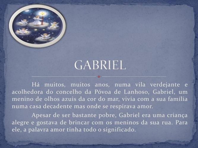 Conto de Natal Gabriel 9ºA
