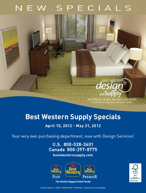 Best Western Supply Speicals