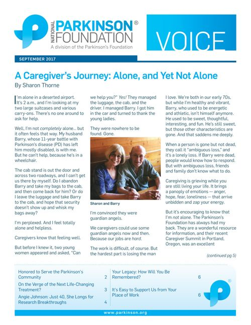 September 2017 Voice Newsletter