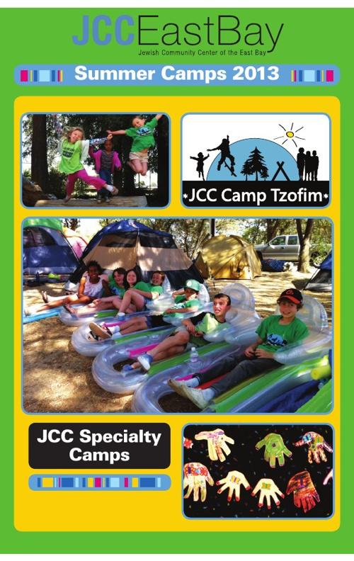 Camp Tzofim Brochure 2013