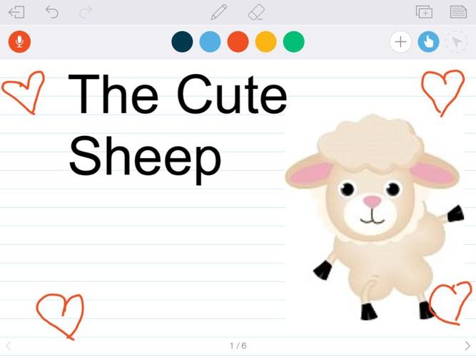 The Cute Sheep By Skye