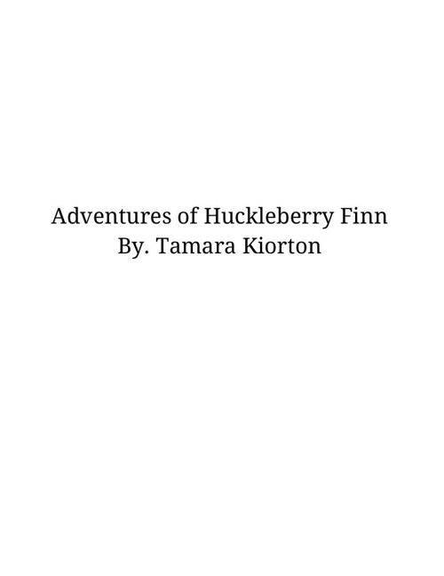 Copy of huck