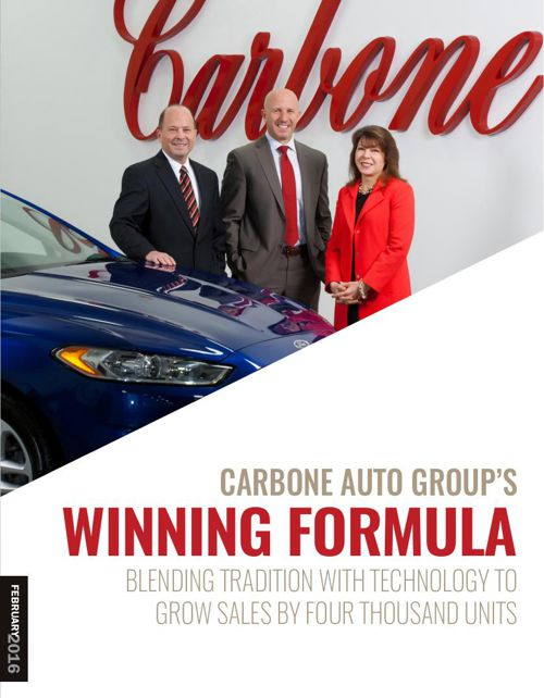 Carbone Auto Group's Winning Formula
