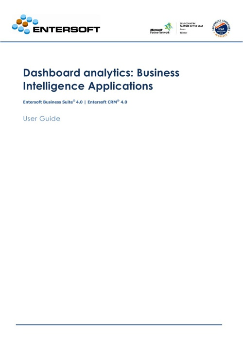 Business Analysis - Dashboards