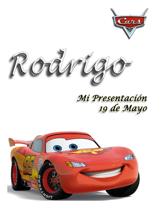 Rodrigo: Mi presentación
