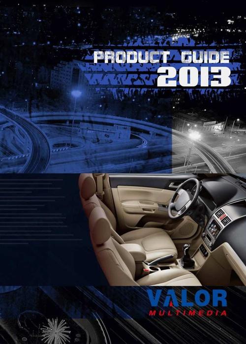 Valor Multimedia catalog 2013