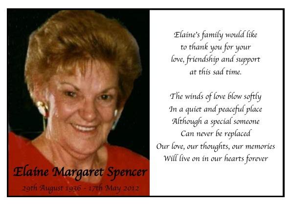 Elaine Spencer Sample 2