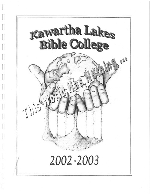 2002 - 2003 Yearbook