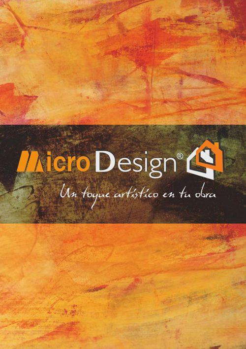 Catálogo de Productos Microdesign® - Revestimientos decorativos