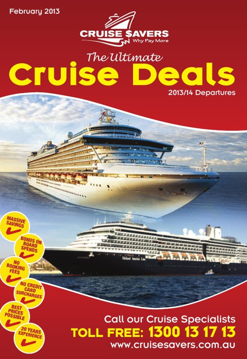 The Ultimate Cruise Deals - February