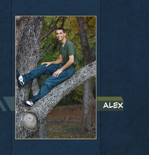 Alex B. 8x8 Photo Book