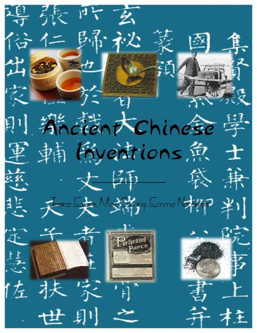 Chinese Inventions- HUMANITIES