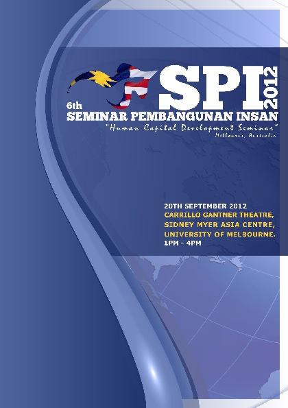 SPI 2012 booklet