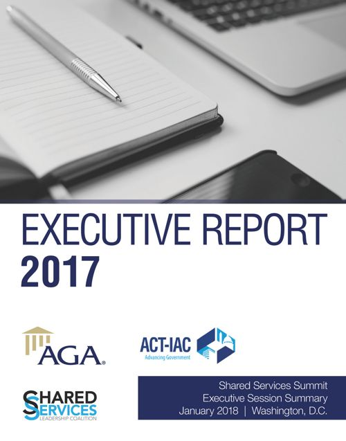 Shared Services Summit 2017 Executive Report