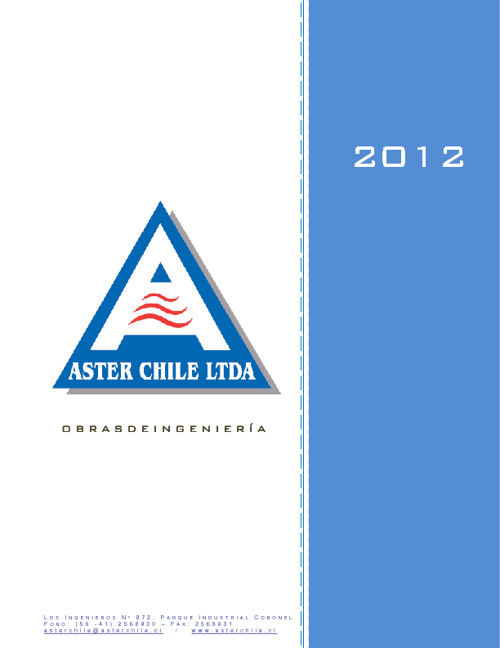 CURRICULUM ASTERCHILE LTDA. 2012