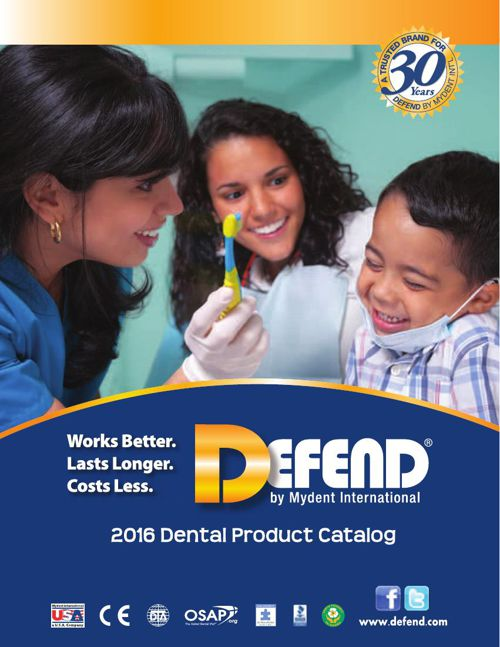 Copy of Copy of DEFEND 2016 - Dental Product Catalog