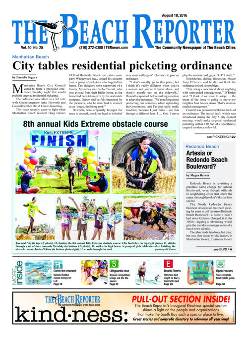 The Beach Reporter | August 18, 2016
