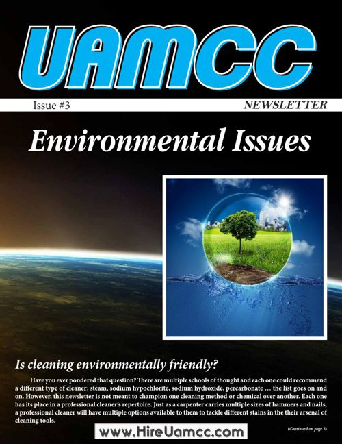 UAMCC Newsletter - Issue 3 - Environmental