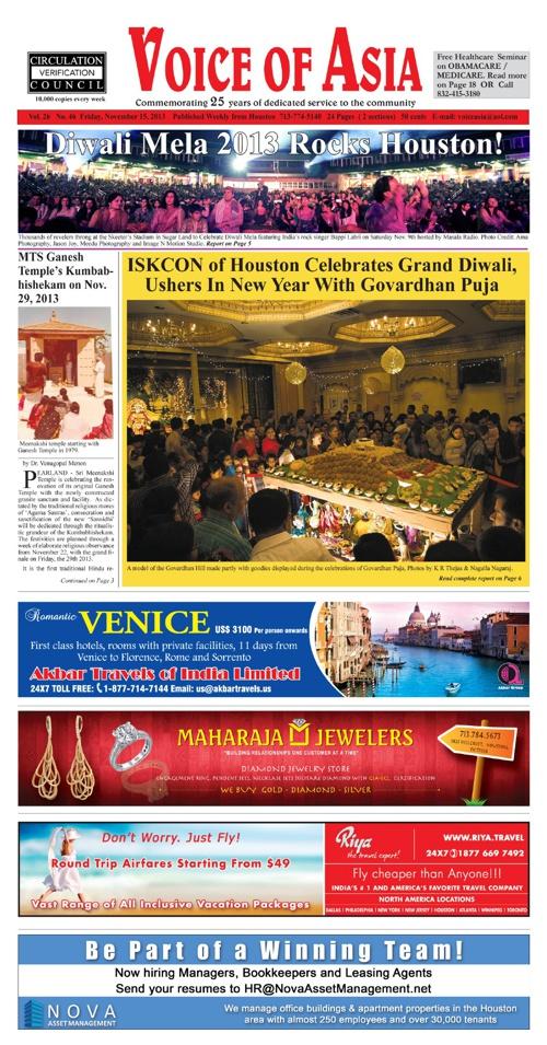 Voice of Asia November 18, 2013
