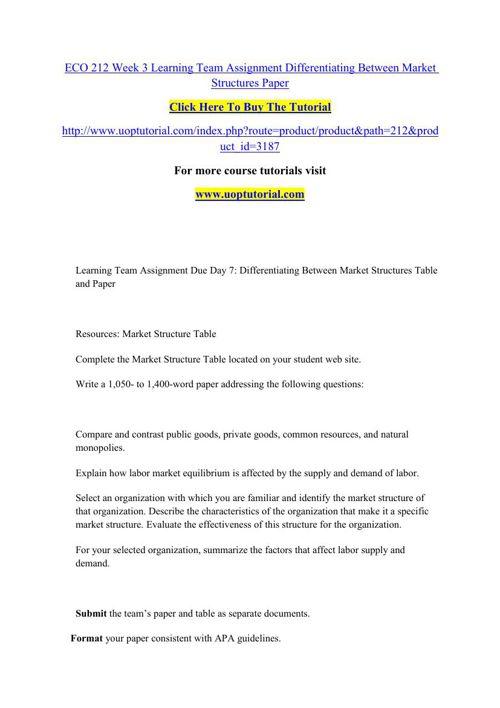 eco 212 final essay example Free essay: economics luis d maymí romero university of phoenix eco/212 prof mayra malpica rivera april 27, 2015 economics there are four principals of.