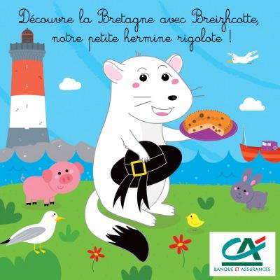 Imagier Crédit Agricole de Bretagne
