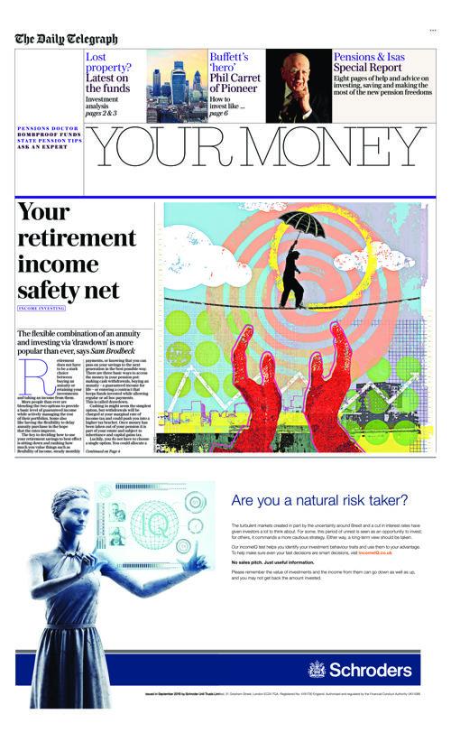Telegraph Your Money 13/09/16