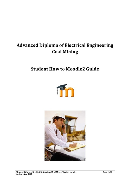 Adv Dip Electrical Engineering Coal Mining