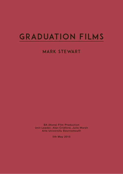 Graduation Films Journal