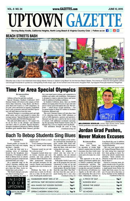 Uptown Gazette  |  June 12, 2015
