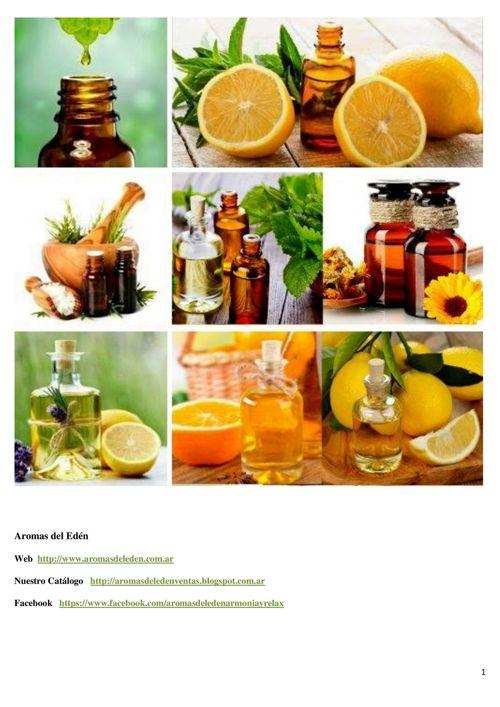 Catálogo Aromas del Edén