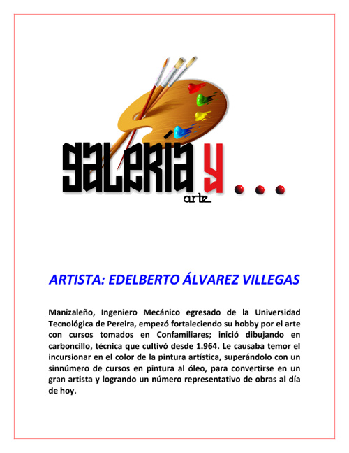 Galeria y Arte Edelberto Álvarez Villegas