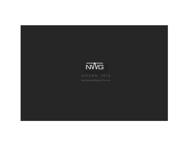 Autumn 2015 NWG Newsletter