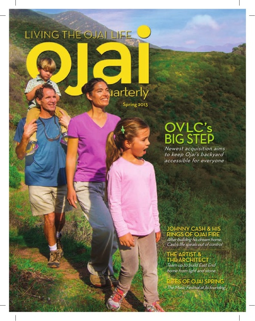 Ojai Quarterly- Spring Issue 2013