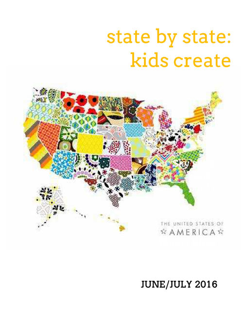 State by State Kids Create Volume 1