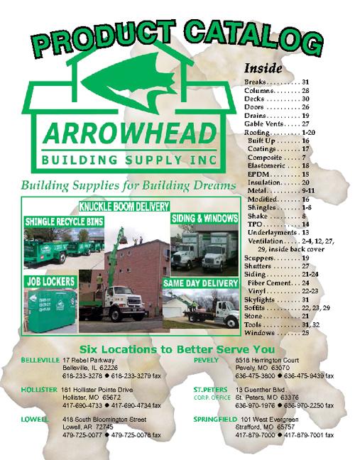 Arrowhead Building Supply 2012 Catalog