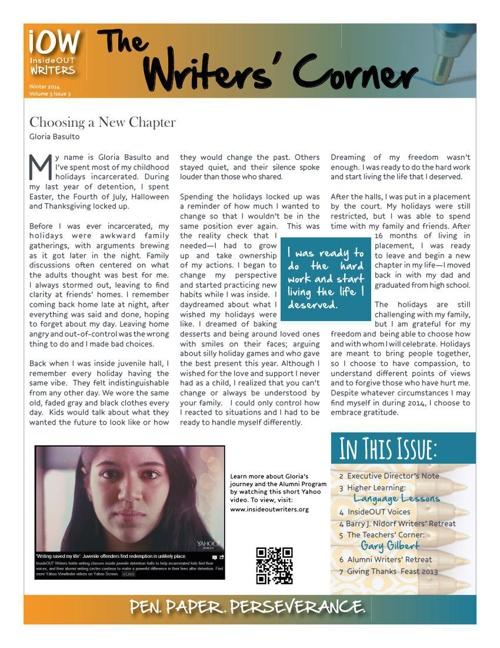 The Writers Corner Vol 3 Iss 3